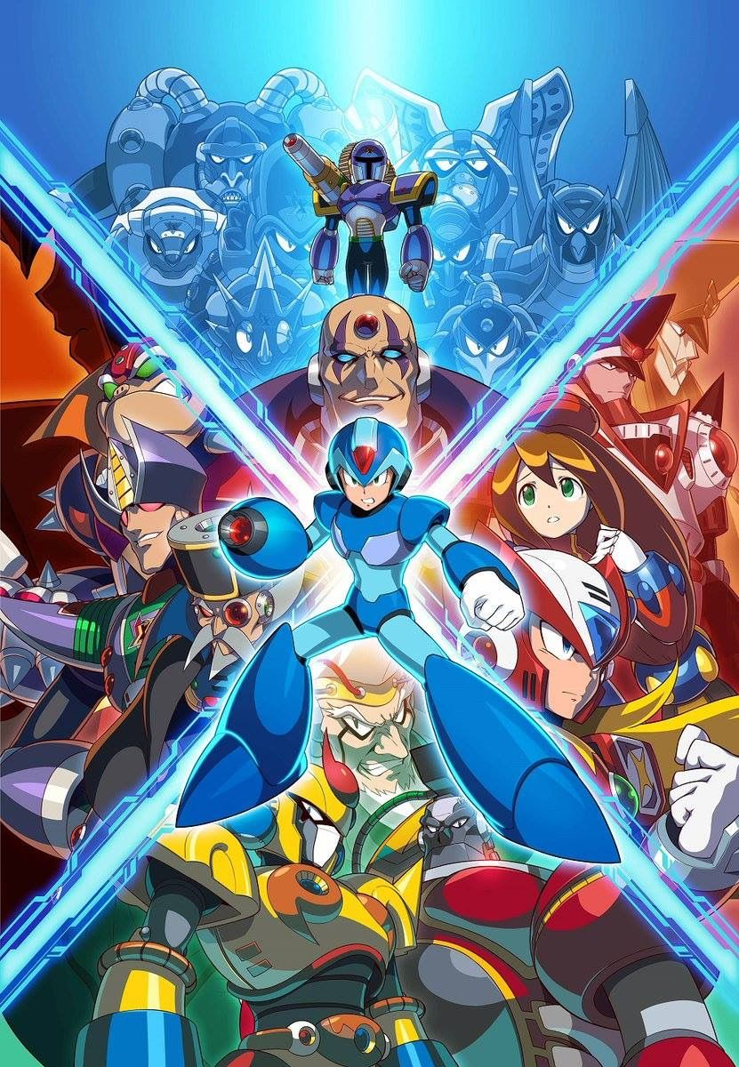Pin De Tony Em Mega Man X Desenho De Personagens Mega Man Arte De Jogos