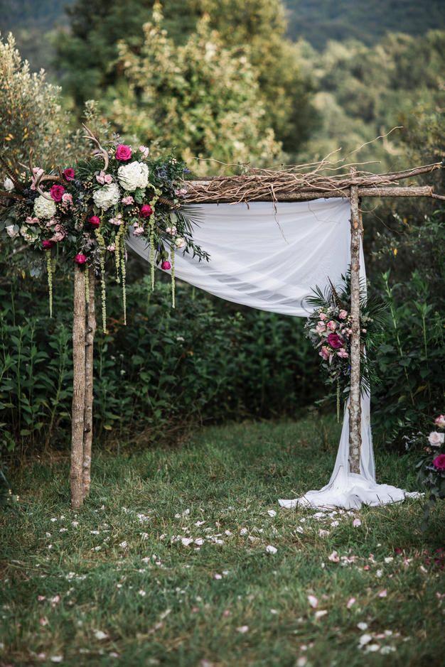 25 Trending Wedding Altar U0026 Arch Decoration Ideas   Outdoor Wedding Arches,  Rustic Outdoor And Wedding Altars