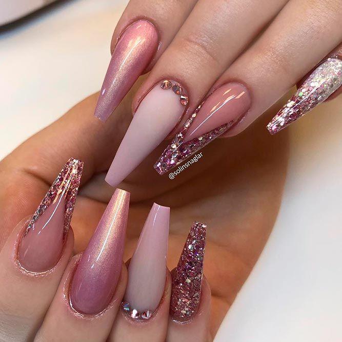 Magnificent Ballerina Nail Shape Designs | Ballerina nails shape, Ballerina  nails and Coffin nails - Magnificent Ballerina Nail Shape Designs Ballerina Nails Shape