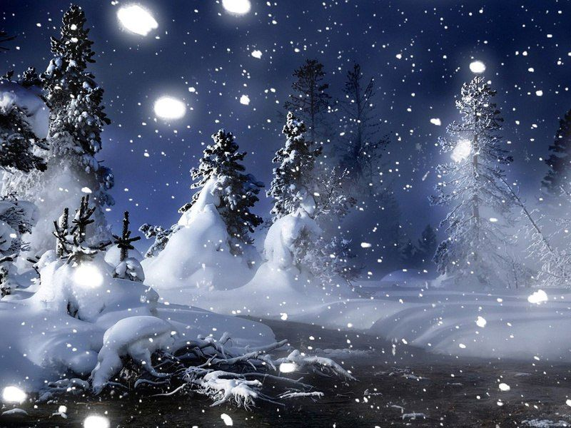Приколами праздники, картинки анимации снегопада