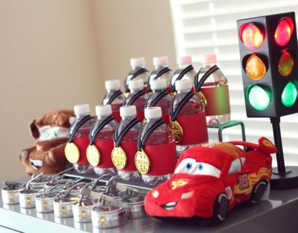 Cars Theme Birthday Party Ideas