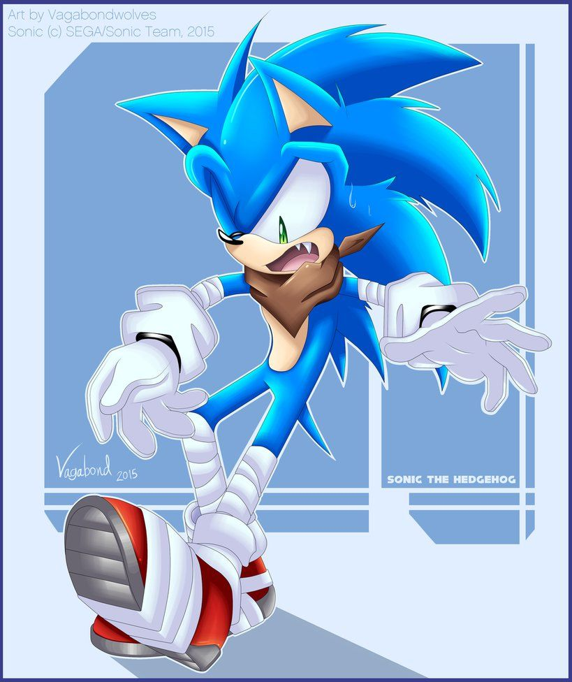 Sb The Blue Blur By Vagabondwolves On Deviantart Sonic Sonic The Hedgehog Hedgehog