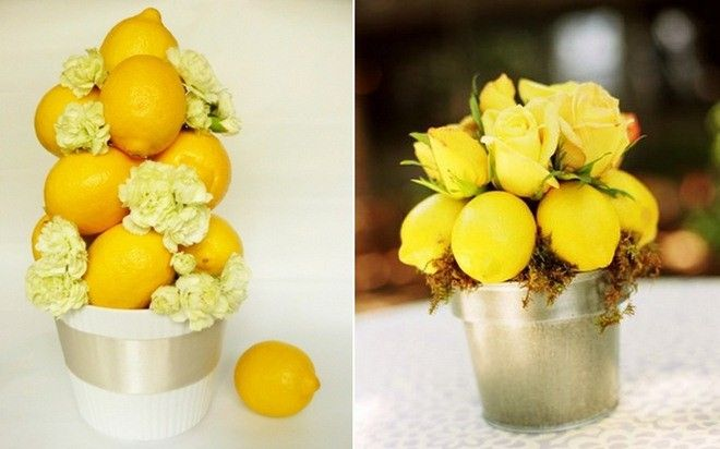 Get Inspired By Our Home Decorating Ideas With Lemons Vase Fillers