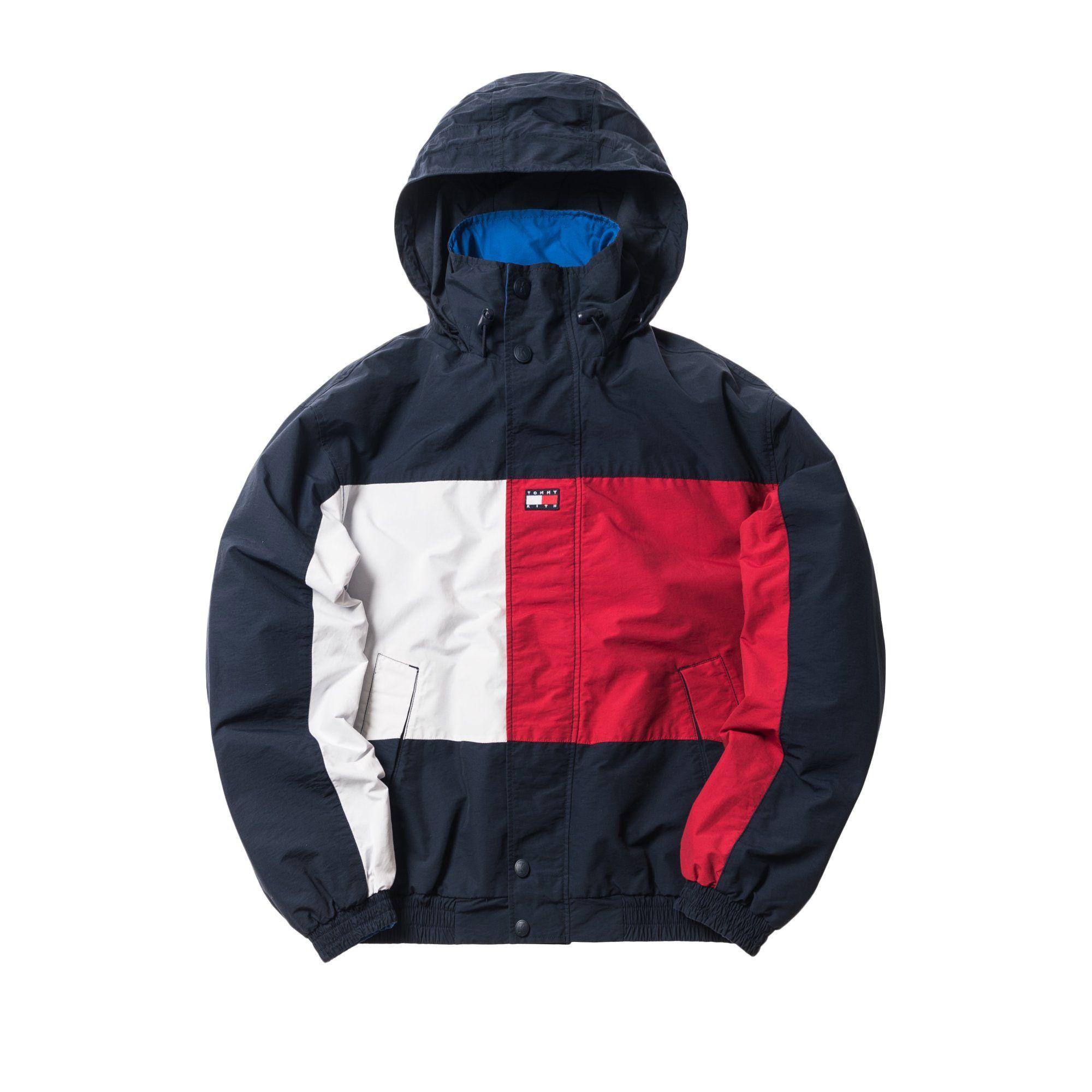 Kith X Tommy Hilfiger Reversible Colorblack Jacket Navy Blue En 2021 Estilo De Ropa Hombre Estilos De Ropa Ropa