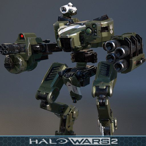 I created the Mantis for Halo Wars 2 DLC, based on the