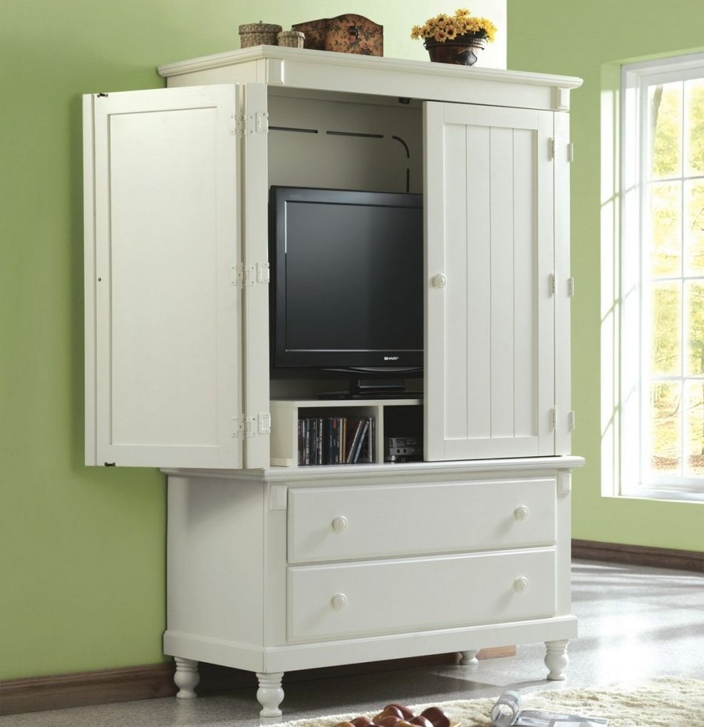 Merveilleux A Small Tv That Will Fit In The Bedroom Armoire..... And