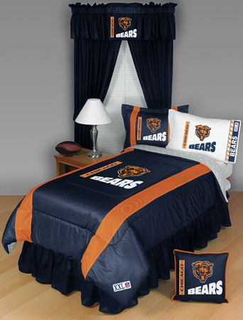 Decorate Your Room With Chicago Bear Bedding Da Bears Pinterest And