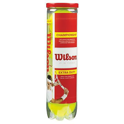 Wilson #championship extra duty #tennis balls #(pack of 4) the no. 1 #tennis brand,  View more on the LINK: 	http://www.zeppy.io/product/gb/2/331566798294/