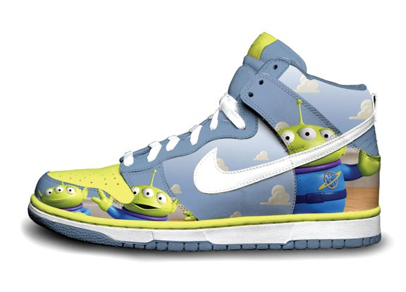 new concept b361a 3dea7 Toy Story Nike Dunks pic on Design You Trust | SHOES, SHOES ...