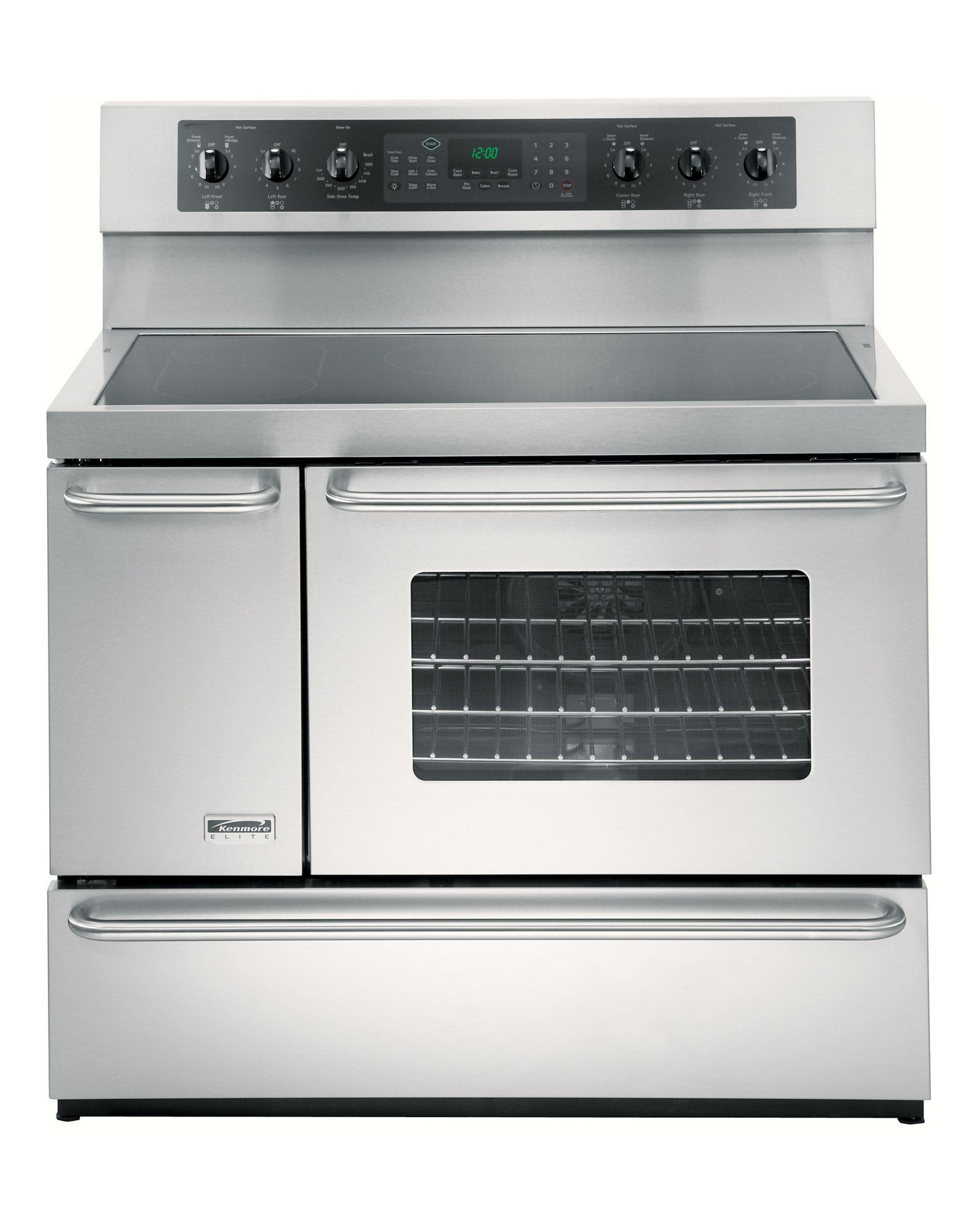 5 4 Cu Ft Double Oven Electric Range