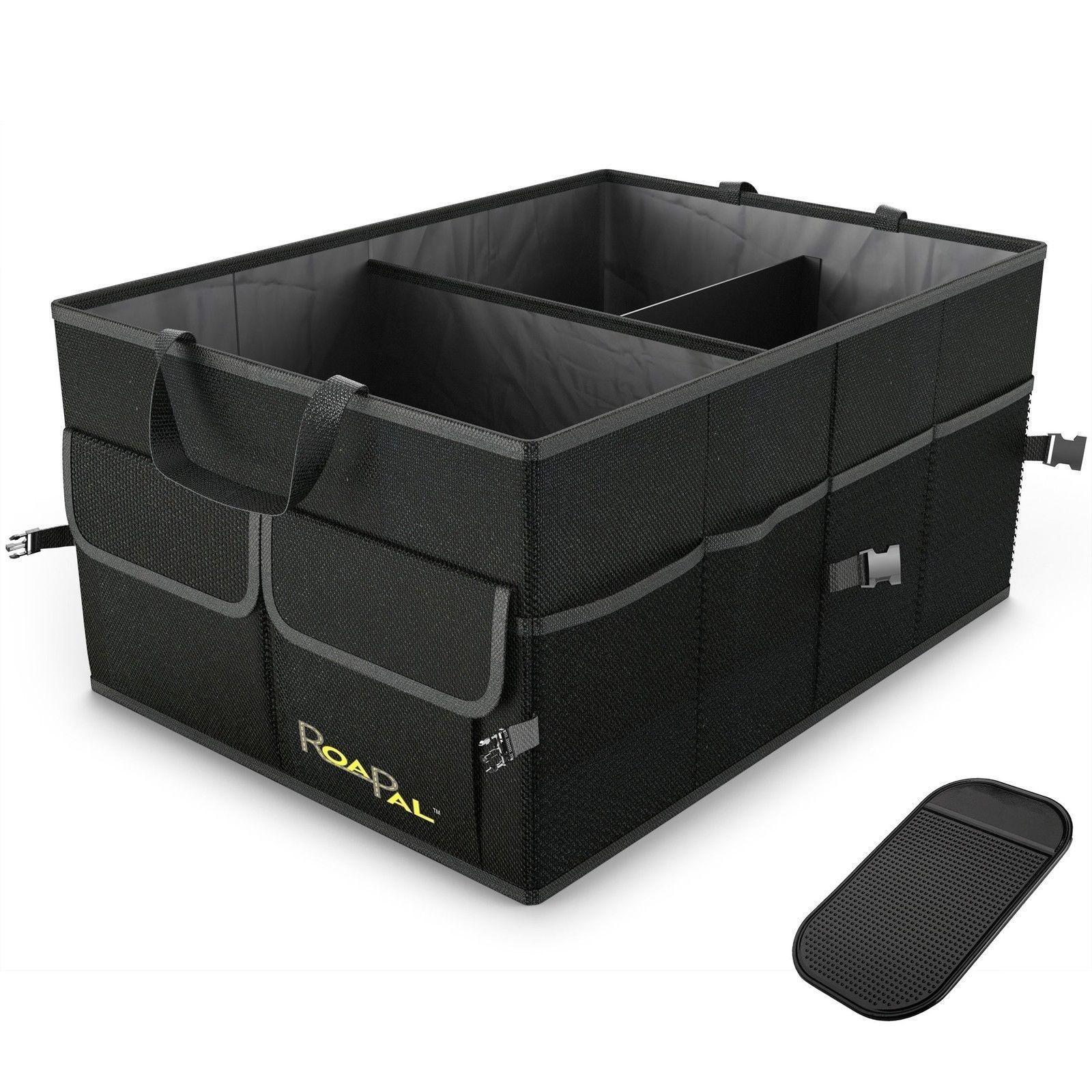 Car Trunk Organizer Foldable Storage Box Collapsible Auto Cargo Bag Portable SUV