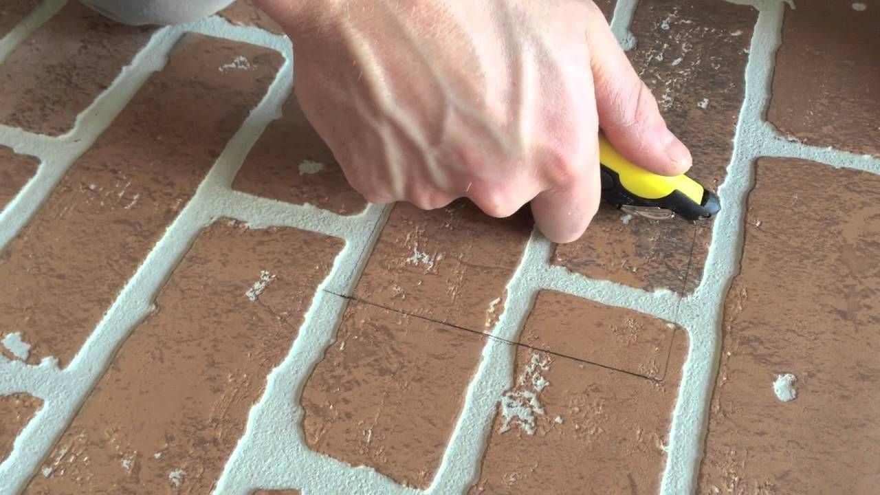 DIY FAUX BRICK WALL HOME DEPOT Faux brick walls, Faux