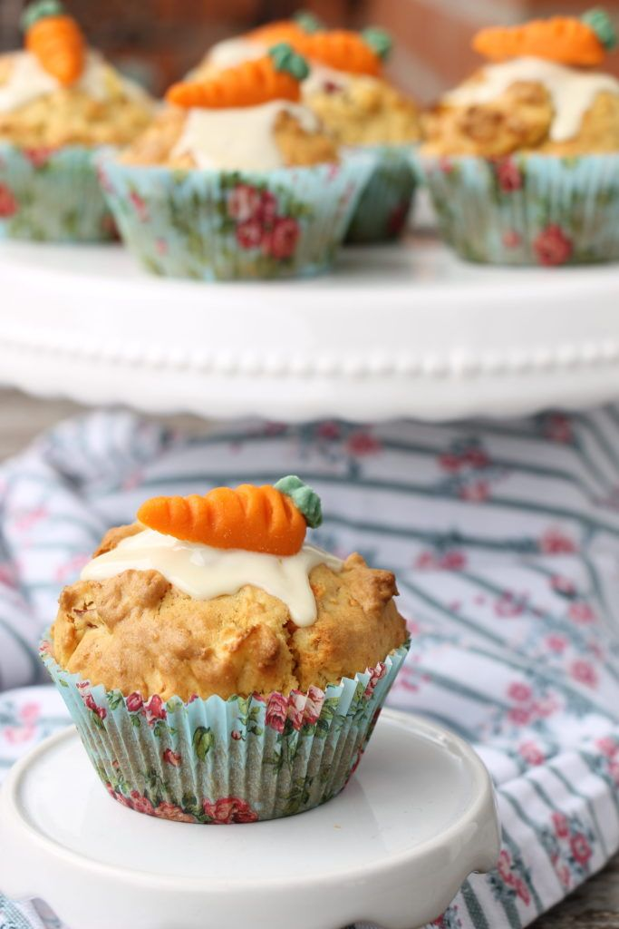 Gesunde Muffins: Apfel-Möhren-Muffins - Lavendelblog #apfelmuffinsrezepte