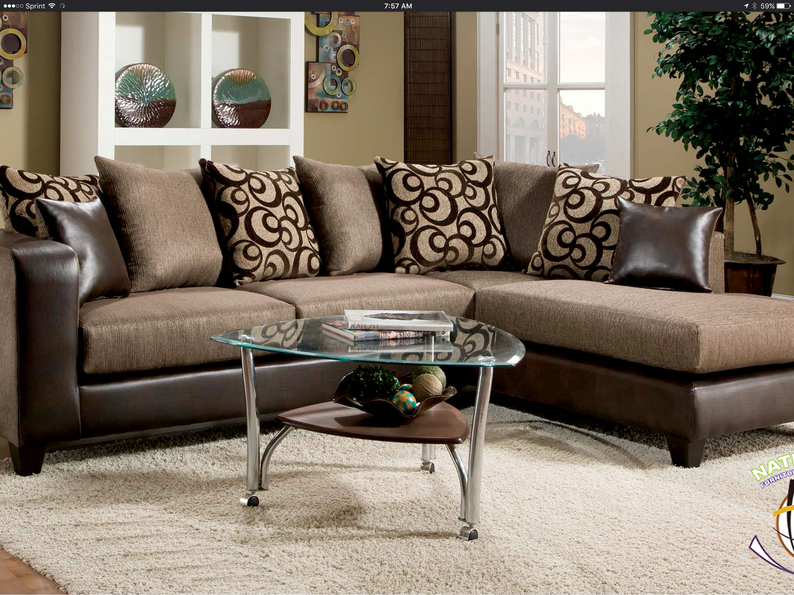 Brandon Sectional By Hd Furniture In 2019 Furniture Sets