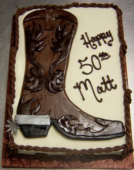 Cowboy Boot Birthday Cake Rs11 Jpg 461 586 Pixels With Images