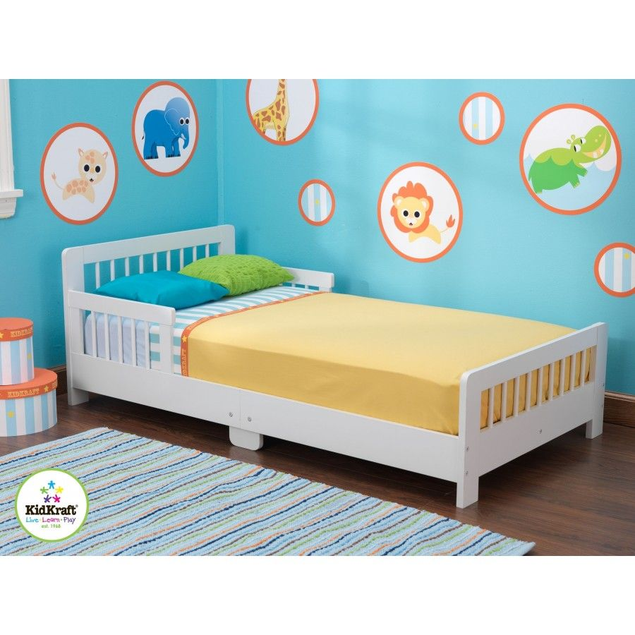 KidKraft Slatted Toddler Bed Finish: White - 86922 | My dream ...