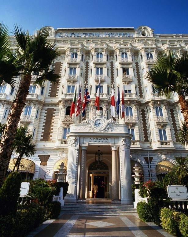 Carlton Hotel In Cannes On The French Riviera Cote D Azur Voyage