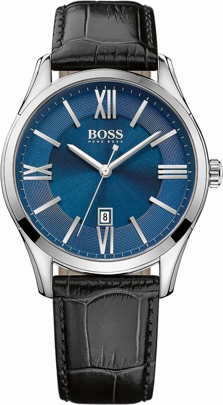 Boss Quarzuhr »Ambassador, 1513386« – Armbanduhren Center