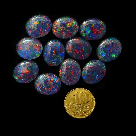 Opal Triplets 12x10 mm