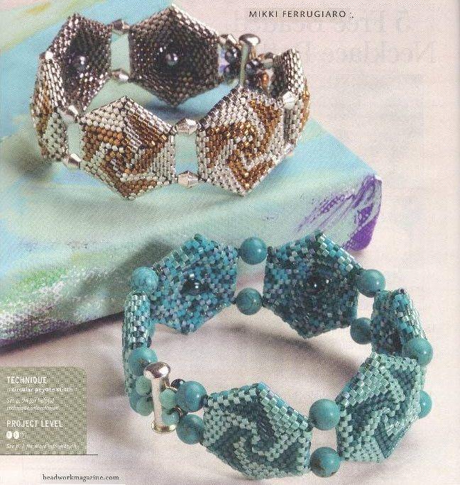 Tutorial for this pretty Bead Bracelet