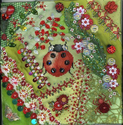 Ladybug Purse Detail