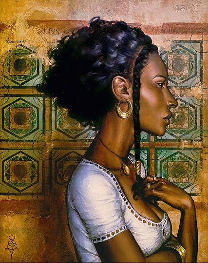 Black Women Art! (NSFW), Ishtara by S. C. Versillee