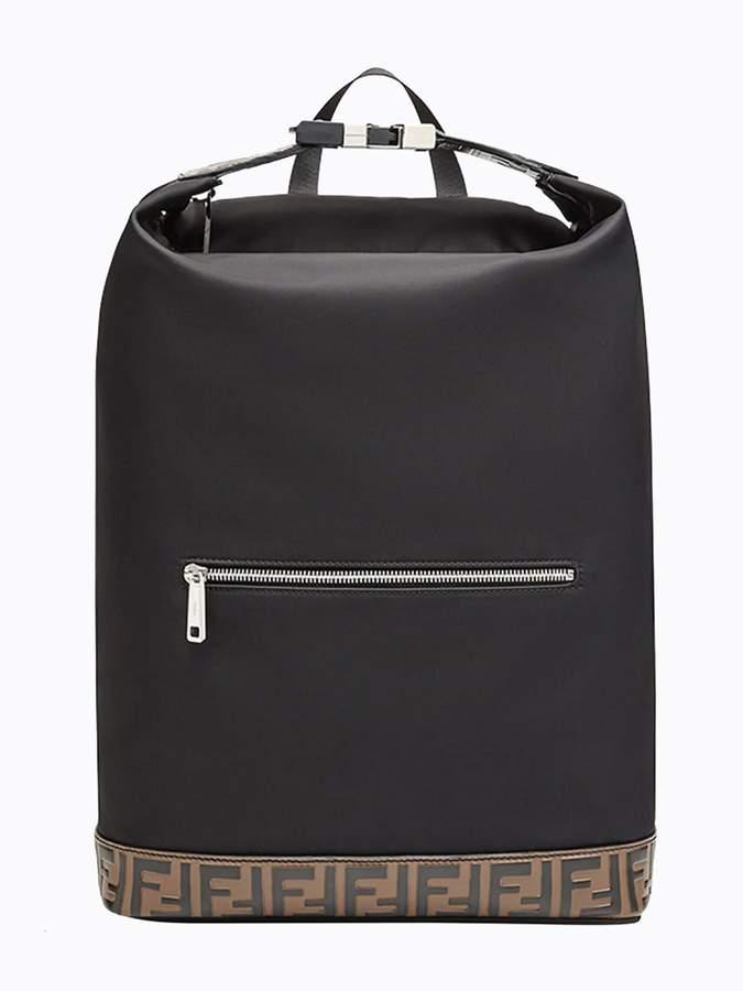 1b8408f9e5b1 Fendi Black Backpack Ff