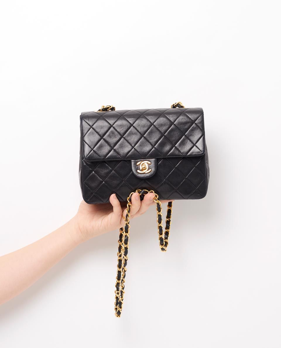 Vintage Chanel Small 8 Classic Flap Bag Gallery Vintage Chanel Bag Vintage Chanel Chanel Flap Bag