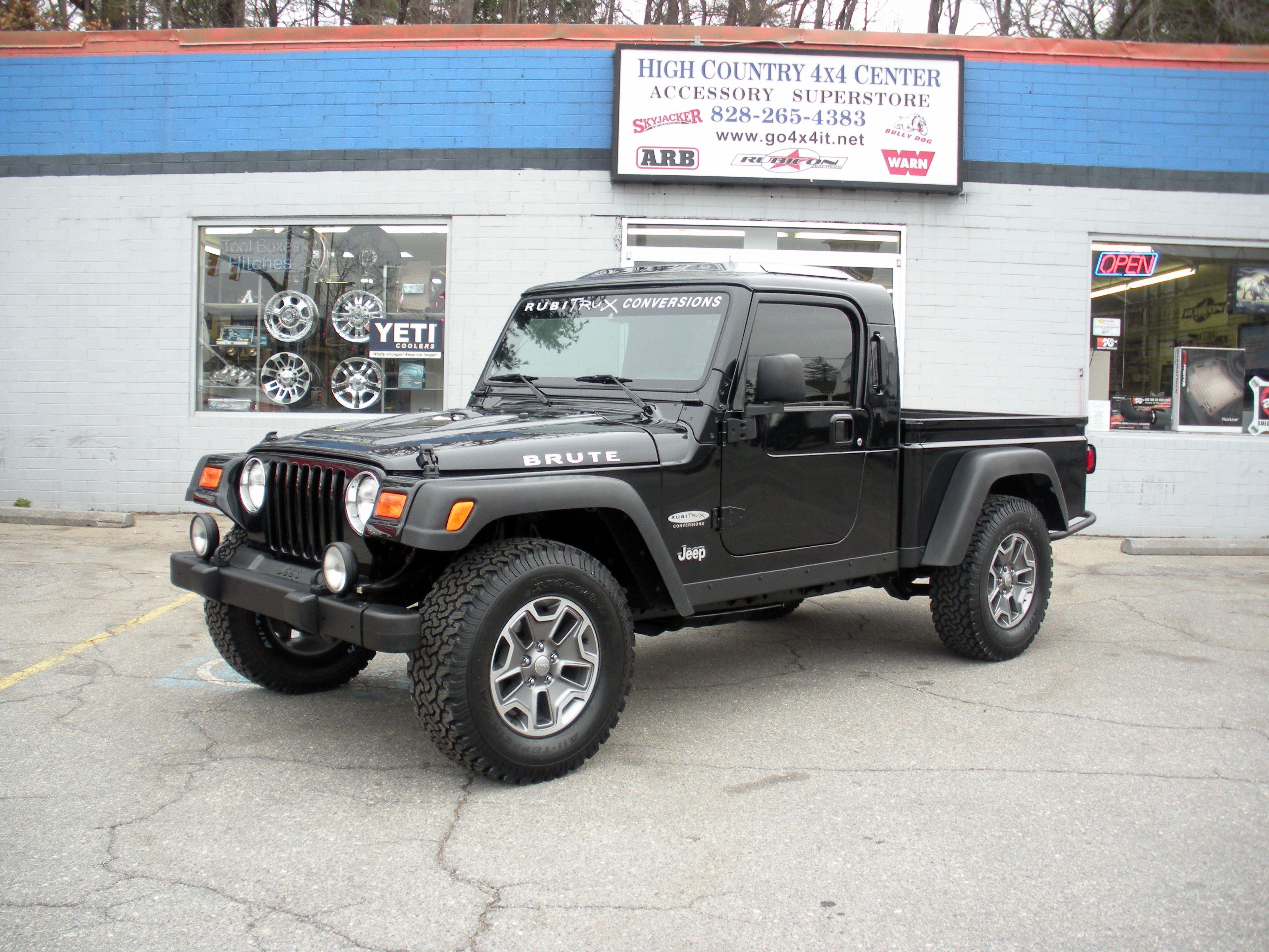 The Black Brute Jeep Wrangler Conversions Pinterest