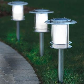 L mparas solares para exterior iluminaci n - Iluminacion jardin solar ...