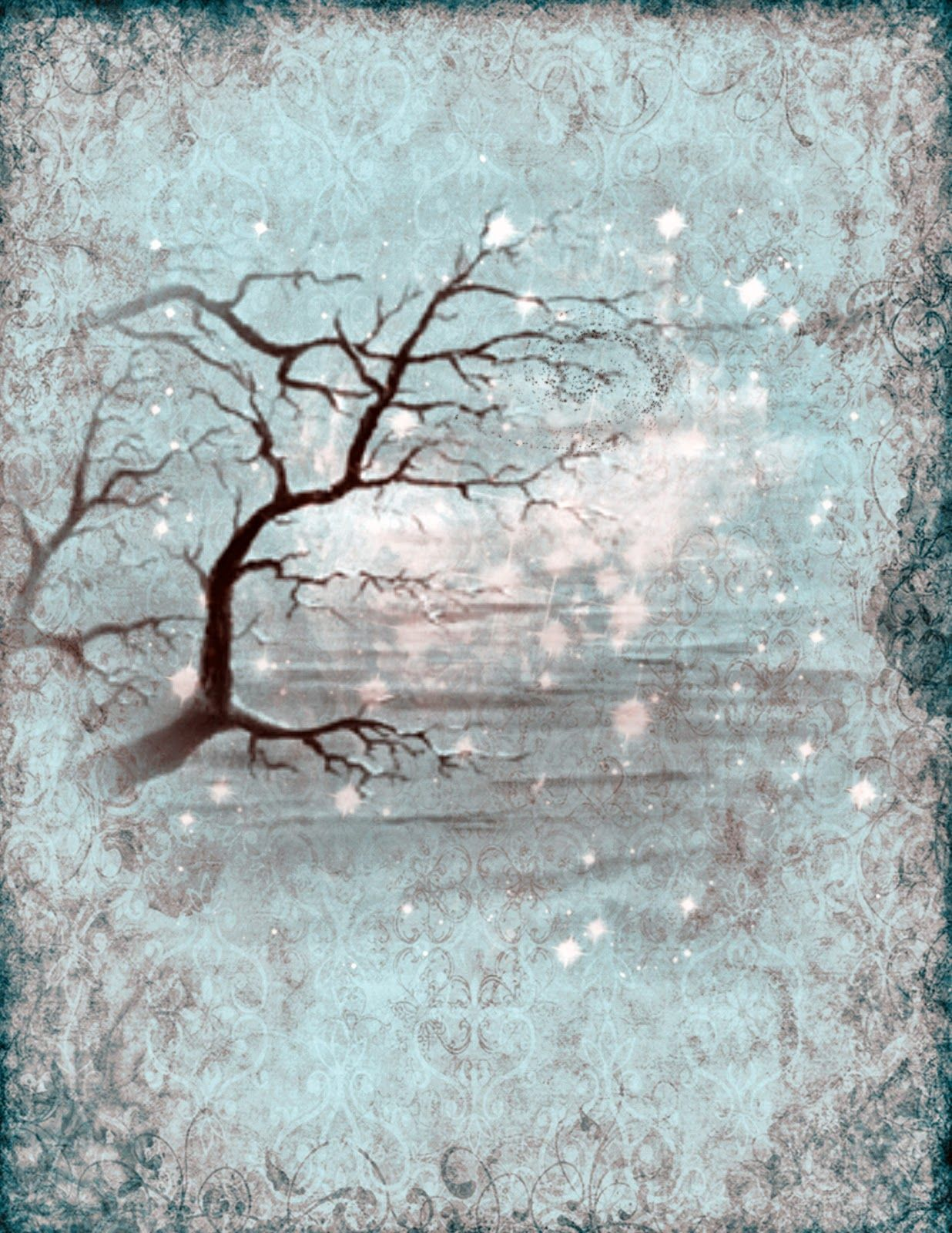 Book Shadows Page Templates - Year of Clean Water