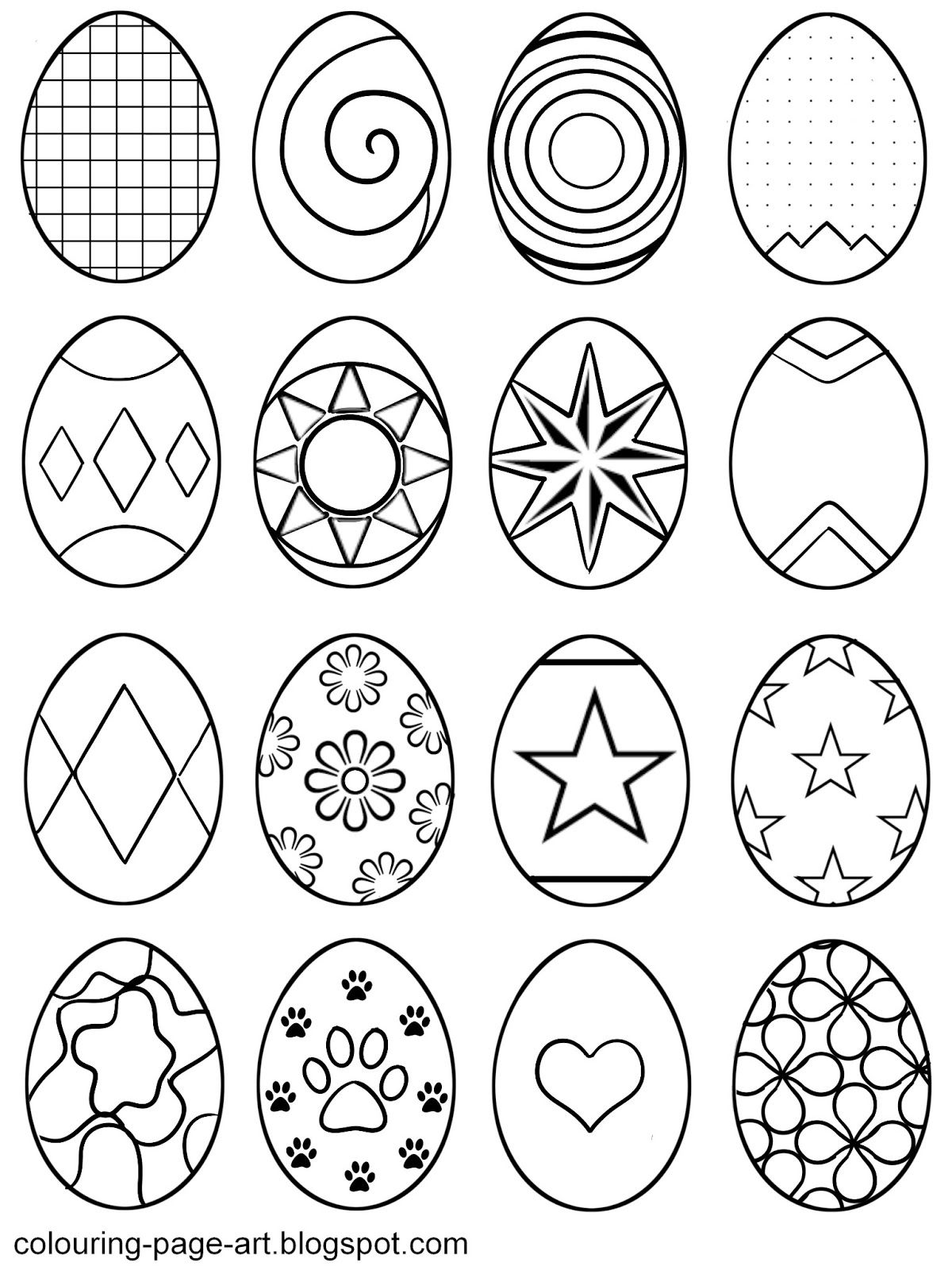 Pin by Teresa Lindley on Holiday Easter coloring sheets