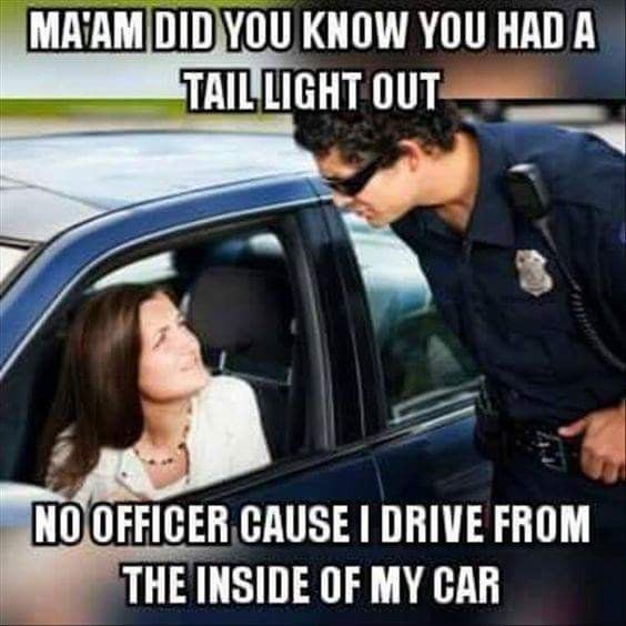 26 Funny Driving Memes For Any Driver In 2020 Funny Quotes Driving Memes Police Humor