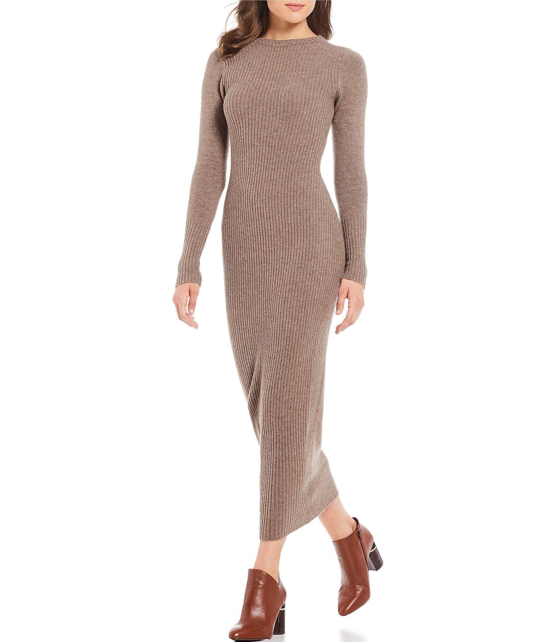 c8e63331b8f Shop for Antonio Melani Sierra Ribbed Sweater V-Back Midi Dress at  Dillards.com. Visit Dillards.com to find clothing