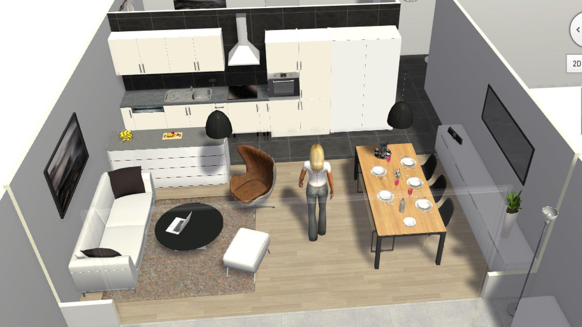 Cuisine Salon Salle A Manger 30m2 Cuisine Moderne 2019 Amenager Petit Salon Salle A Manger Amenagement Petit Salon Amenagement Salon