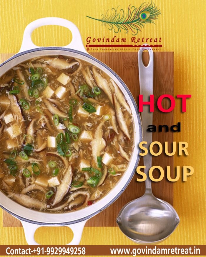 Hot And Sour Soup Is A Variety Of Soups From Several Asian