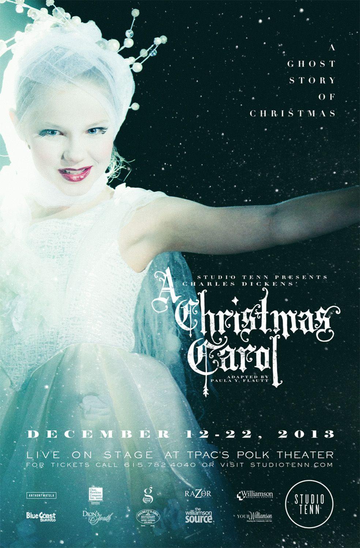 st_cc_13_poster.jpg Christmas carol, Theatre poster, Carole