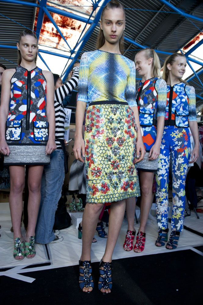 Peter Pilotto SS12: Welcome to the home of fashion innovation – it has to be London Fashion Week