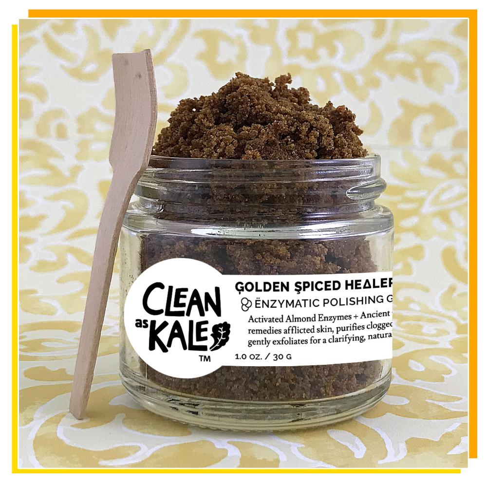Golden Spiced Healer ꙮ Enzymatic Polishing Granules