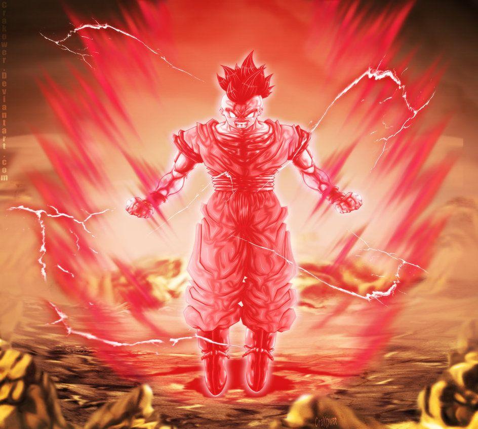 Fan Art Dbm Uub Kaioken Max By Crakower Dragon Ball Z