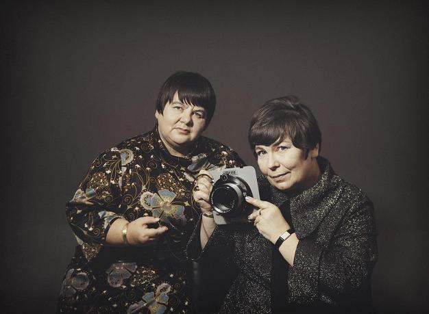 Margit Ekman ja Eila Marjala olivat Kuvasiskot.