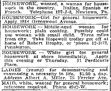 Help WantedFemale Classified Ads What Exactly Is A Job For