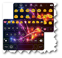 Electric Emoji Keyboard Apk Download Emoji Keyboard Smartphone Apps Android Keyboard