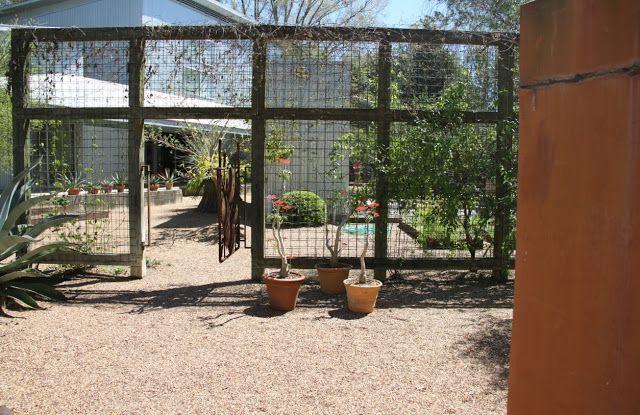 Garden Structures · Screening For Vines