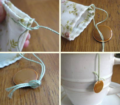 I Love This Reusable Tea Bag As A Homemade Gift With My Custom Hand Blended