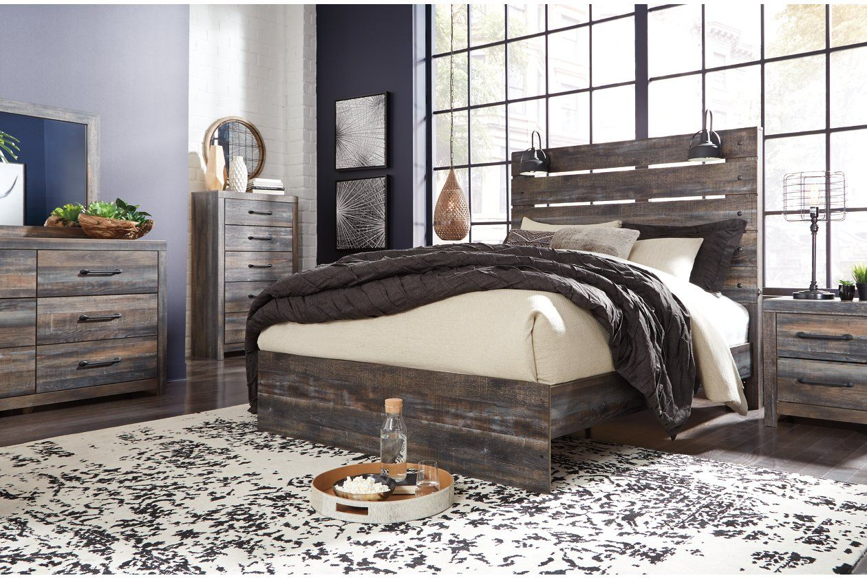 Drystan Queen Panel Headboard Panel bed, Furniture