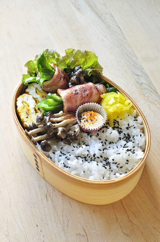 Photo of ピーマンのベーコン巻き弁当 | 家族へ 健康弁当