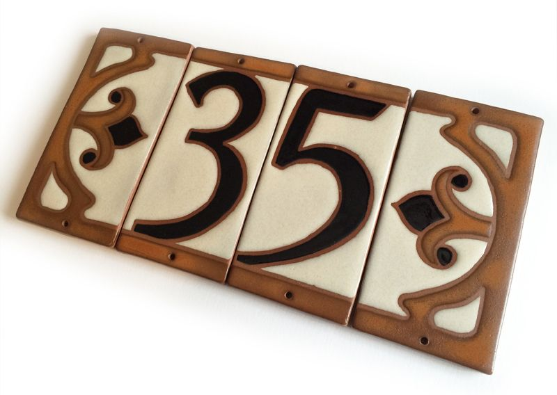 click to enlarge doors hardware pinterest house numbers rh pinterest com Cottage Style Mailboxes Tropical Beach House Numbers
