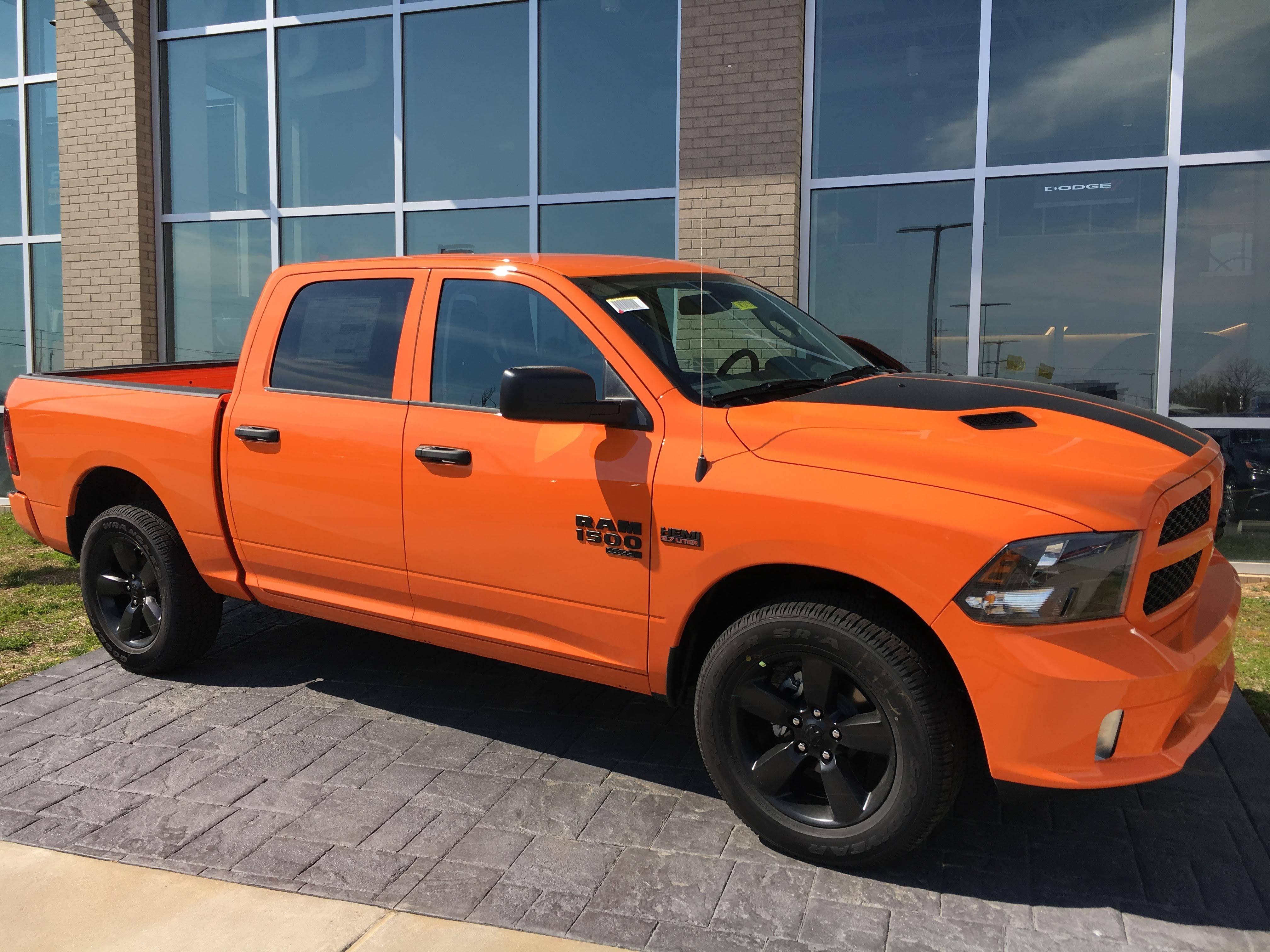 2019 ram 1500 in ignition orange chrysler jeep nashville dodge chrysler pinterest