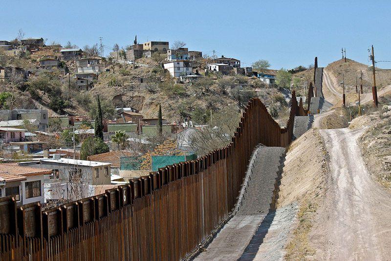 Border Wall Nogales Mexico Arizona Usa Nogales Mexico Nogales Nogales Arizona